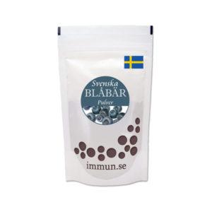 Svenskt Blåbärspulver