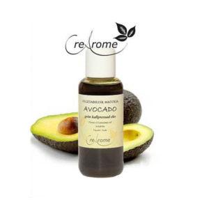Grön avocadoolja
