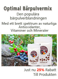 optimal bärpulverblandning